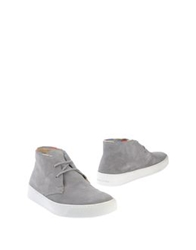 Serafini Times High Top Dress Shoes Grey