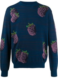 Acne Studios Blueberries Embroidered Jumper 60