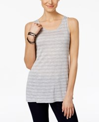 G.H. Bass And Co. Striped Tank Top White Combo