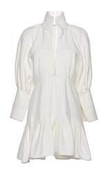 Ellery Butler Dress White