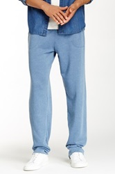 Alternative Apparel Lightweight French Terry Relaxed Pant Blue