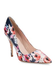 Kate Spade Licorice Floral Pumps Multi Colored