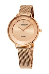 Stuhrling Women's Symphony 589 Quartz Watch Metallic