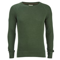 Nudie Jeans Men's Dag Knitted Jumper Olive
