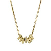 Tate Women's Ring Charm Necklace No Color