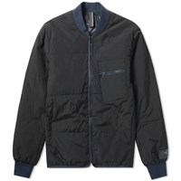 Paul Smith Nylon Bomber Jacket Black
