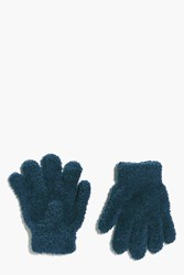 Boohoo Thermal Snow Soft Magic Gloves Teal