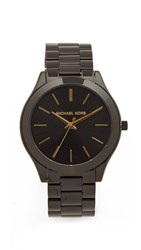 Michael Kors Slim Runway Watch Black