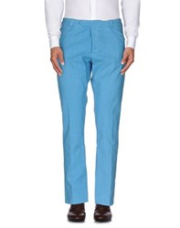 Italia Independent Trousers Casual Trousers Men Azure