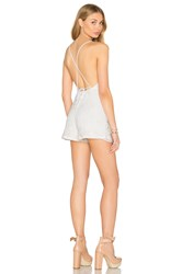 Nightcap Sunkissed Playsuit White