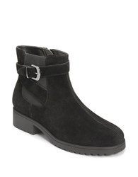Aerosoles Notebook Suede Ankle Boots Black