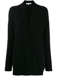 Vince Open Front Cardigan Black