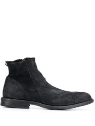 Fiorentini Baker Distressed Ankle Boots Black