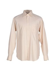 Xacus Shirts Shirts Men Beige