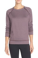 Women's Under Armour 'Cozy' Coldgear Crewneck Sweatshirt Ox Blood