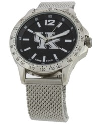Game Time Kentucky Wildcats Cage Series Watch Silver Black