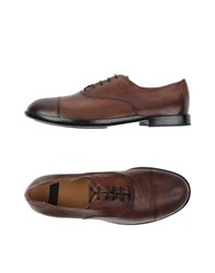 Raparo Footwear Lace Up Shoes Men Cocoa