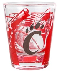 Hunter Manufacturing Cincinnati Bearcats 3D Collector Glass