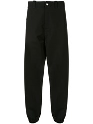 Marni Side Stripe Trousers Black