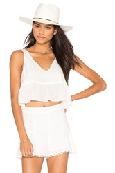 Stone_Cold_Fox Skye Crop Top White