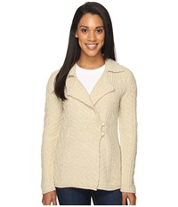 Royal Robbins Sequoia Cardigan Light Khaki Women's Sweater