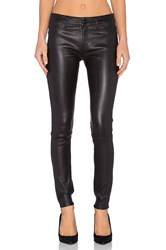 Dl1961 Florence Leather Skinny Black