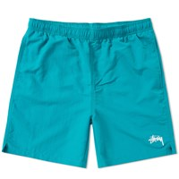 Stussy Stock Elastic Waist Short Green