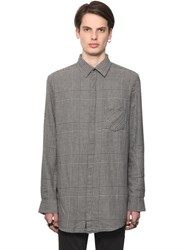 Cheap Monday Prince Of Wales Cotton Flannel Shirt