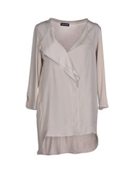 Diana Gallesi Blouses Dove Grey