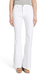 Ag Jeans Petite Women's 'Janis' High Rise Flare White