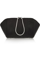 Alexander Wang Chastity Elaphe Cosmetic Case Black