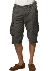 Alpha Industries Jet Shorts Grey Black