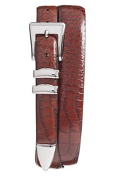 Men's Torino Belts Alligator Embossed Leather Belt