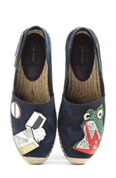 Marc Jacobs Women's Sienna Frog Espadrille Flat
