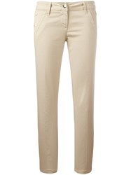 Jacob Cohen Chino Trousers Nude Neutrals