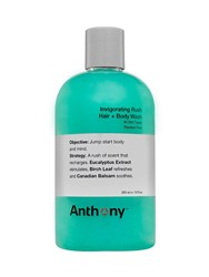 Anthony Logistics For Men Invigorating Rush Hair Body Wash Transparent