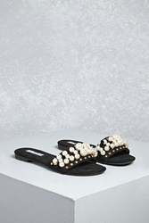 Forever 21 Studded Faux Suede Slides