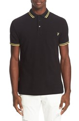 Versace Men's Jeans Embroidered Pique Polo