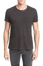 Belstaff Men's Crossfell Extra Trim Fit Stripe Jersey T Shirt