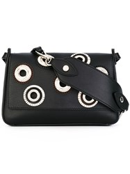 Orciani Montana Shoulder Bag Women Calf Leather One Size Black