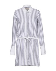 Maison Kitsune Short Dresses White