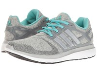 Adidas Energy Cloud V Medium Grey Heather Silver Metallic Easy Mint Women's Running Shoes Gray