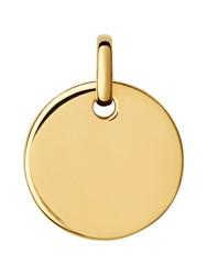 Links Of London Narrative 18Ct Gold Vermeil Pendant N A N A