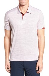 Oakley Gravity Polo Shirt Iron Red
