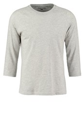 Your Turn Long Sleeved Top Mottled Light Grey