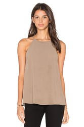 Blaque Label Racer Tank Brown