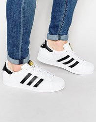 Adidas Originals Superstar Animal Trainers S75157 White