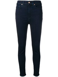 7 For All Mankind Classic Skinny Jeans Blue