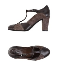 Panna E Cioccolato Pumps Dark Brown