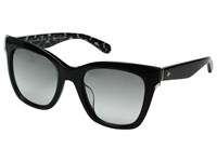 Kate Spade Emmylou S Black Cream Transparent Gray Gradient Lens